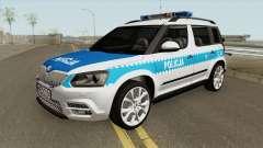 Skoda Yeti (Policja KSP) for GTA San Andreas