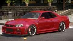 Nissan Skyline GT-R34 ST for GTA 4