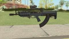 Bullpup Rifle (Three Upgrades V2) Old Gen GTA V for GTA San Andreas