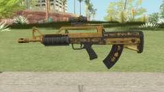 Bullpup Rifle (Scope V1) Main Tint GTA V for GTA San Andreas