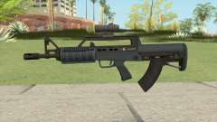 Bullpup Rifle (Scope V1) Old Gen Tint GTA V for GTA San Andreas