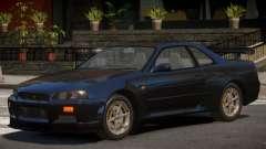 Nissan Skyline R-34 V1.1 for GTA 4