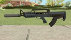 Bullpup Rifle (Two Upgrades V7) Old Gen GTA V for GTA San Andreas