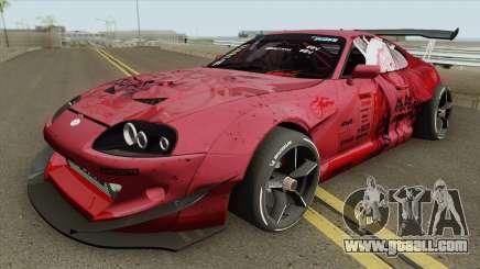 Toyota Supra (Rocket Bunny Pandem) for GTA San Andreas