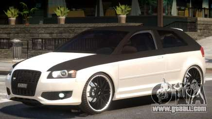 Audi S3 Tuned for GTA 4