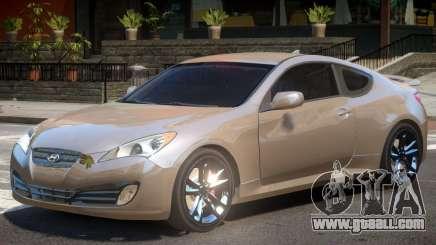 Hyundai Genesis Y10 for GTA 4