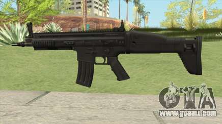 SCAR-L AR V1 for GTA San Andreas
