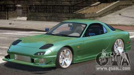Mazda RX-7 Custom V1.0 for GTA 4