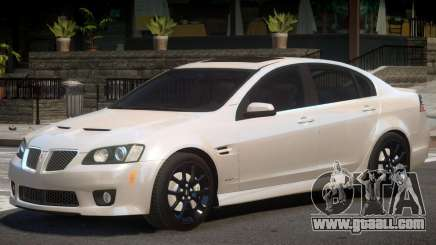 Pontiac G8 GXP V1 for GTA 4