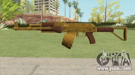 Assault Rifle GTA V Flashlight (Box Clip) for GTA San Andreas