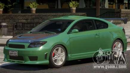 Toyota Scion S for GTA 4