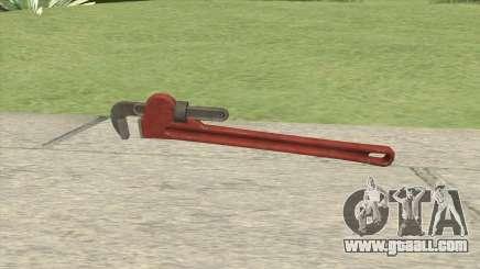 Pipe Wrench GTA V for GTA San Andreas