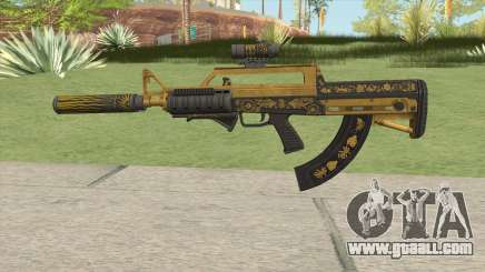 Bullpup Rifle (Three Upgrade V4) Main Tint GTA V for GTA San Andreas