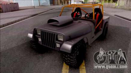 Jeep Wrangler Sand Drag for GTA San Andreas