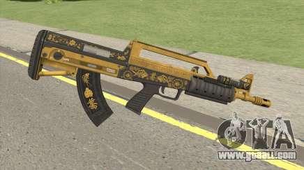 Bullpup Rifle (Flashlight V1) Main Tint GTA V for GTA San Andreas