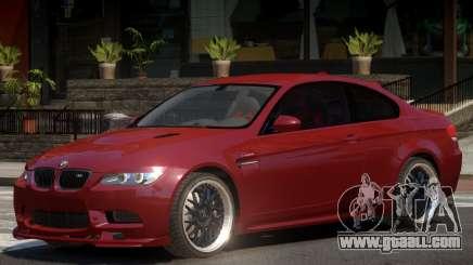 BMW M3 E92 Custom for GTA 4