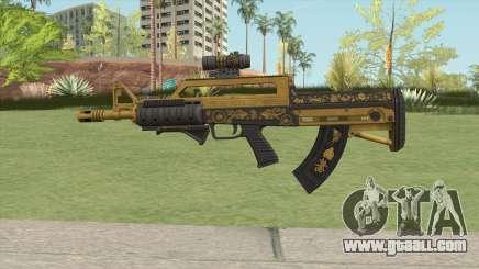 Bullpup Rifle (Three Upgrade V1) Main Tint GTA V for GTA San Andreas