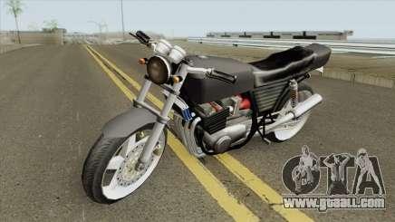 Kawasaki Z400 FX Custom LQ for GTA San Andreas