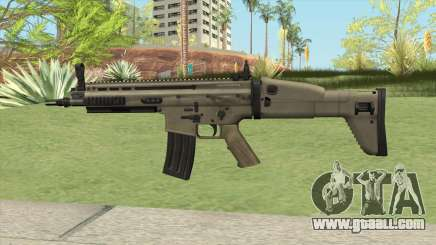 SCAR-L AR V2 for GTA San Andreas