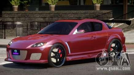 Mazda RX8 TDI for GTA 4