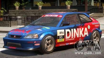 Dinka Blista Compact V1 PJ7 for GTA 4