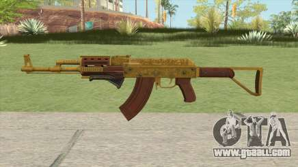 Assault Rifle GTA V Grip (Default Clip) for GTA San Andreas