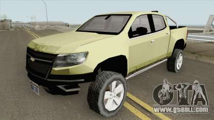 Chevrolet Colorado Z71 2019 for GTA San Andreas