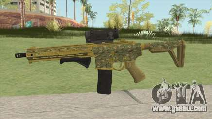 Carbine Rifle GTA V (Camuflaje) for GTA San Andreas