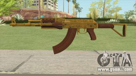 Assault Rifle GTA V Flashlight (Extended Clip) for GTA San Andreas