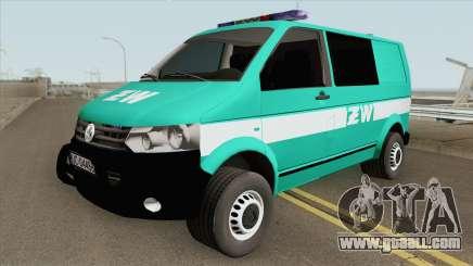 Volkswagen Transporter T6 (Zandarmeria Wojskowa) for GTA San Andreas