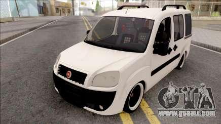 Fiat Doblo Combi Mix 2010 for GTA San Andreas