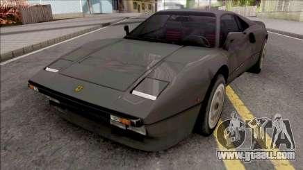 Ferrari 288 GTO 1984 v2 for GTA San Andreas