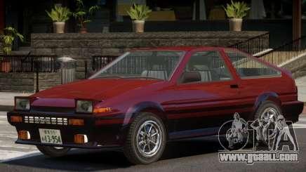 1986 Toyota Sprinter V1.2 for GTA 4