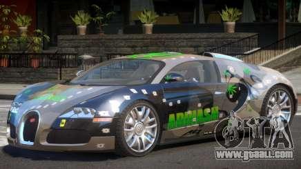 Bugatti Veyron S V1.1 PJ2 for GTA 4