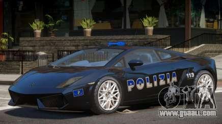 Lambo Gallardo Police for GTA 4