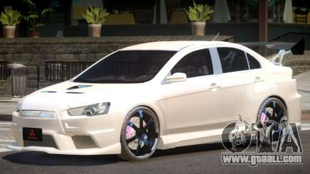 Mitsubishi Lancer X Tun for GTA 4