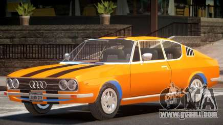 1970 Audi 100 V1.2 for GTA 4