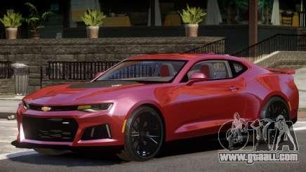 Chevrolet Camaro ZL1 GT for GTA 4