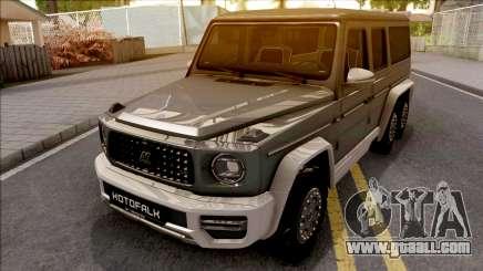 Mercedes-Benz G63 KOTOFALK for GTA San Andreas