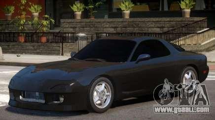 Mazda RX7 V2 for GTA 4