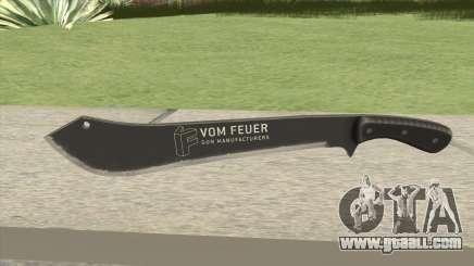 Vom Feuer Machete V1 GTA V for GTA San Andreas