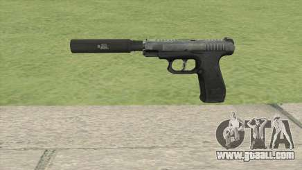 GSh-18 Suppressed (Contract Wars) for GTA San Andreas