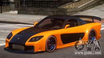 Mazda RX-7 Custom V1 for GTA 4