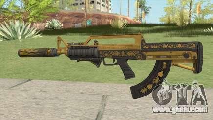 Bullpup Rifle (Three Upgrade V8) Main Tint GTA V for GTA San Andreas