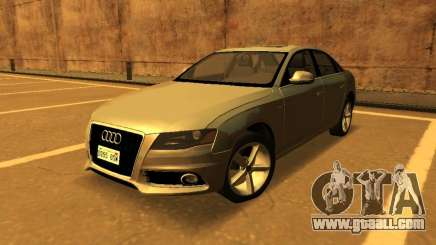 Audi A4 2.0 TFSI 2010 for GTA San Andreas