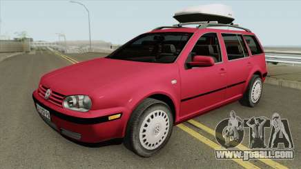 Volkswagen Golf MK4 Variant for GTA San Andreas