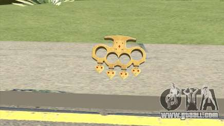 Knuckle Dusters (The Player) GTA V for GTA San Andreas