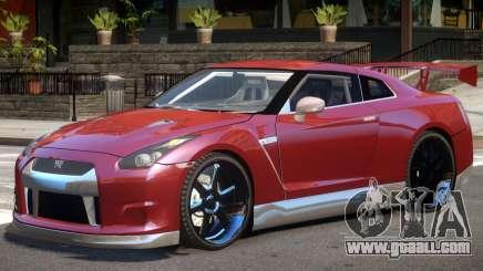 Nissan GT-R 35 V1.0 for GTA 4