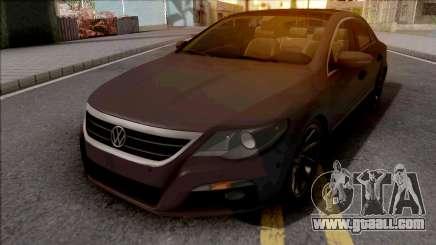 Volkswagen Passat CC Brown for GTA San Andreas