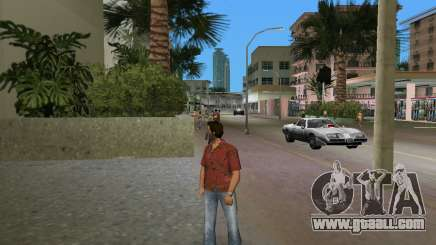 Quality red shirt for GTA Vice City